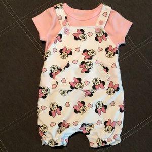 Minnie overalls.